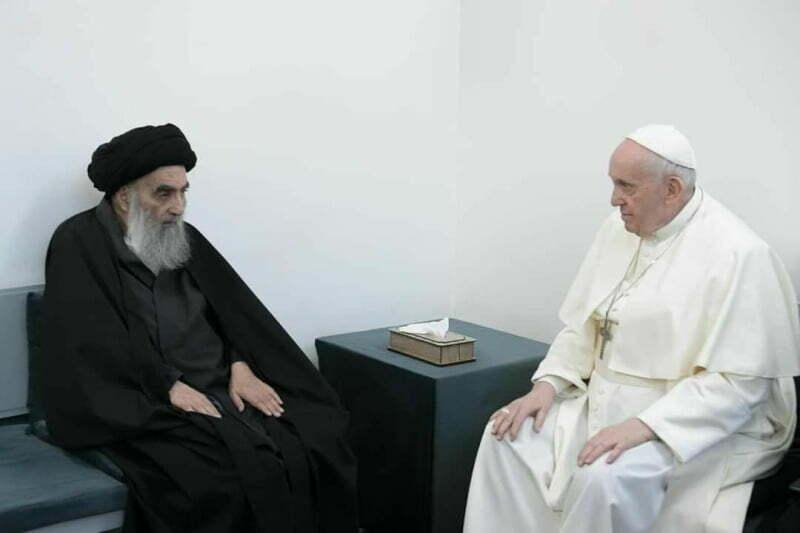دیدار دو رهبر مذهبی بلندپایه
